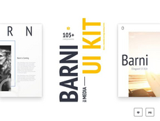 Barni – Kit UI media