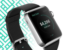 Concept Apple Watch – App finance perso