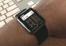 Concept Apple Watch – App calculatrice