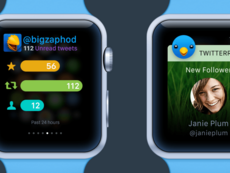 Concept App Twitter – Apple Watch