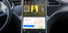 Tesla – Redesign de la console centrale