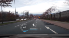 BMW i8 – Concept head-up display
