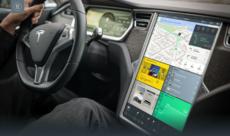 Tesla – Concept d'infotainment