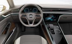 Volkswagen – Concept GTE Coupé Sport infotainment