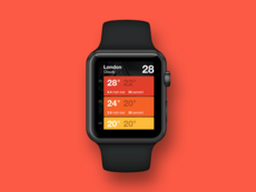 App Apple Watch – élement tables
