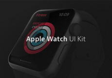 Apple Watch – Kit UI PSD & Sketch