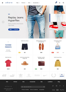 Aware – Kit UI ecommerce