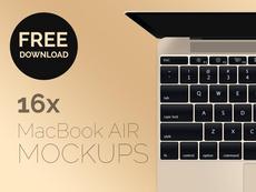 MacBook Air 2015 – mockup gratuit