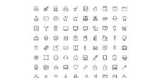 Stream line icons
