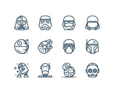 Star Wars – Icônes gratuites