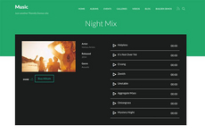 Music – Thème WordPress