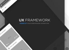 UX framework – Kit wirframes