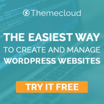 Theme Cloud - l'hébergement WordPress nouvelle génération