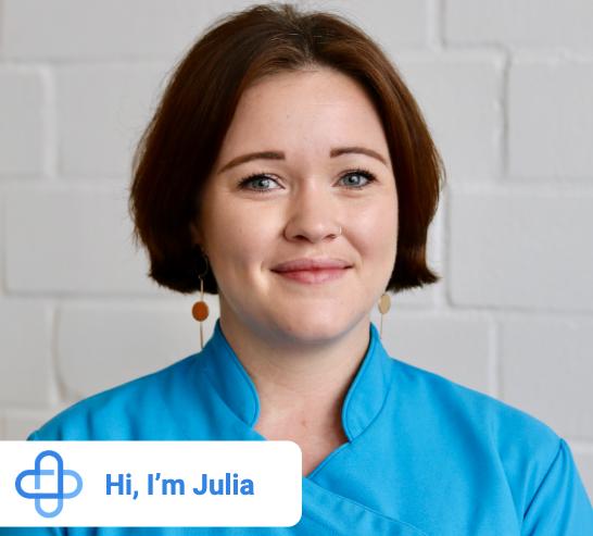Julia Moss-Pearson | Orthopaedic Team Lead