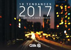 Qlik - Ebook : Les 10 tendances de la BI pour 2017