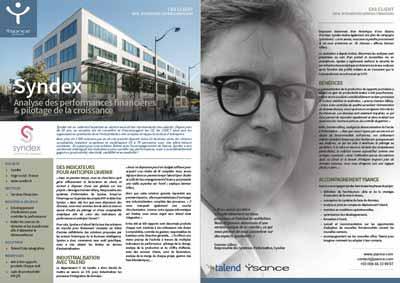 Ysance - Cas Client Talend : Syndex