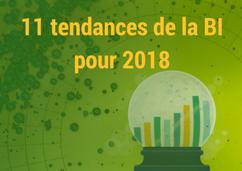 11 tendances de la BI pour 2018