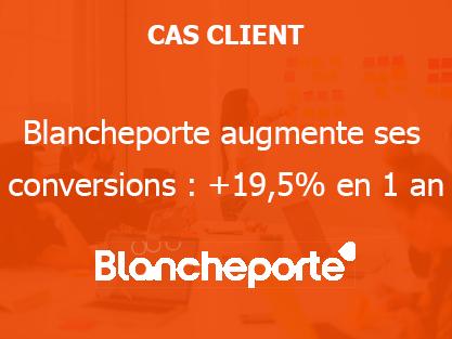 Blancheporte augmente ses conversions : +19,5% en 1 an
