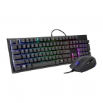 Cm storm bundle gaming masterset ms120combo with rgb - membrane keyboard + mouse