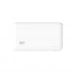 Power bank 10000mah silicon power s100 bianco 2p usb (2.1a e 1a)
