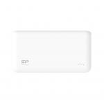 Power bank 15000mah silicon power s150 bianco 2p usb (2.1a e 1a)
