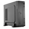 Case slim micro-atx/itx tc-s2 tecno 500w usb3 c.read 1fan 8cm bk