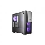 """Case masterbox mb500, usb3x2, audio i&o, 2x 3.5/2x 2.5""""bay, 2x 120mm rgb fr.fans+1x 120mm rgb r.fan, radiator supp., no psu"""