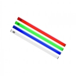 Universal led strip rgb with magnetic grip, aluminum housing, 2pcs