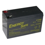 Batteria al piombo 12 volt 7 a. - misure: 15x6.50x9.50 cm.