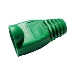 Copriconnettore per plug rj45 verde (a-mot/g 8/8)