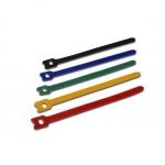 Confezione 50  fascette velcro mm. 150 x 2.6 in 5 colori diversi