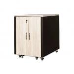 """Armadio rack 19"""" per reti insonorizzato 17 unita' misure 750x1130x1000 mm (lxpxa)"""