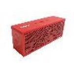 Altoparlante minibox rosso bluetooth
