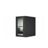 Armadio 7 unita' da muro linea soho (a)420 x (l)600 x (p)600 mm. colore nero ral9005
