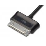 Cavo sincronia dati e caricabatteria per samsung galaxy tablet pc 30 pin, mt. 1 in blister da esposizione
