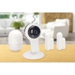 Starter kit ednet con 1 telecamera hd 720p, 1 sensore movimento, 2 sensori contatto