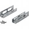 """Coppia frame in metallo per installazione hd 3,5"""" su slot 5,25"""""""