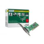 Scheda aggiuntiva interfaccia parallela 25 poli pci 1 porta (ds-33010)