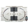Cassetta di giunzione fibra ottica con 12 pigtail st om4