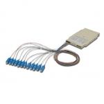 Cassetta di giunzione fibra ottica con 12 pigtail sc om3