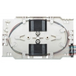 Cassetta di giunzione fibra ottica con 12 pigtail sc om4