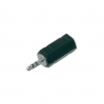 Adattatore audio da 3 pin 2.5 mm. stereo maschio a 3 pin 3,5 mm. stereo femmina