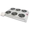 Kit 6 ventole con termostato colore grigio chiaro per armadi linea server