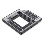 Telaio di installazione per unita' cd/dvd/blu-ray sata su sata iii altezza 12,7 mm