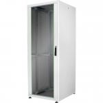 """Armadio 42 unit? 19"""" per reti e server misure (a)2010 x (l)800 x (p)800 mm. colore grigio chiaro"""