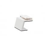 Tappo chiusura colore bianco per pannelli patch vuoti o prese