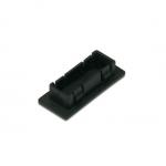 Confezione 100 tappi di chiusura per fori nei pannelli con connettori fibra ottica lc