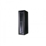 Armadio 22 unita' linea professionale (a)1200 x (l)600 x (p)600 mm. colore nero ral9005 (dn-19 22u-6/6-sw)