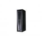 Armadio 42 unita' linea professionale (a)2020 x (l)600 x (p)600 mm. colore nero ral9005  (dn-19 42u 6/6-sw)