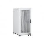Armadio 36 unita' linea server (a)1787 x (l)600 (p)1000mm. colore grigio chiaro con porta traforata e ruote